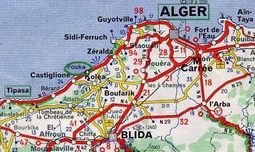 Carte Algerie Tipaza.Algerie Fouka Geneawiki
