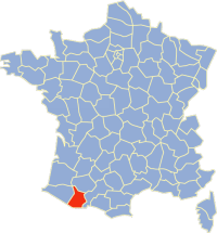 Carte France Département 65.png