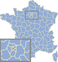 Fichier:Carte France Département 75.png