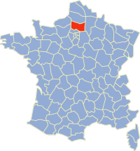 Liste des communes de l'Oise — Geneawiki