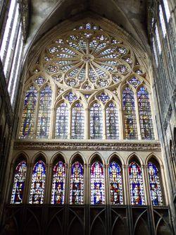 Vitraux Metz cathédrale saint-Étienne de metz — geneawiki