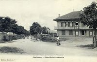 52093 - Carte postale - Chalindrey - Rond Point Gambetta.jpg