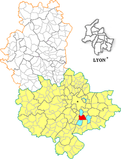 69276 - Feyzin carte administrative.png