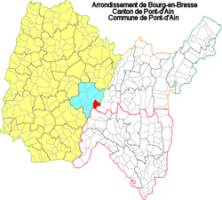 01304 - Carte administrative - Pont-dAin.png