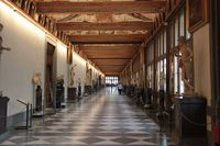 Italie - Florence - galerie des offices 01 .JPG