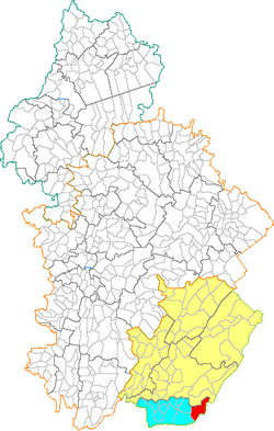 39046 - Bellecombe carte administrative.png