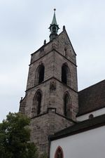 Bâle Martinskirche Clocher.jpg