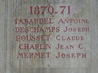 38297 - Arandon-Passins - Passins - Monument aux morts - 2020 06.JPG