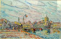 34- Meze - port de Meze - Paul SIGNAC.jpg