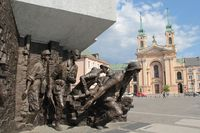 Pologne - Varsovie - monument insurrection 02 .JPG