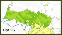 Liste des communes du val d 39 oise geneawiki for Liste communes oise
