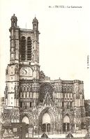 10387 - Troyes Cathedrale 1917.jpg