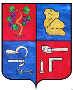Blason deCouzon-au-Mont-d'Or