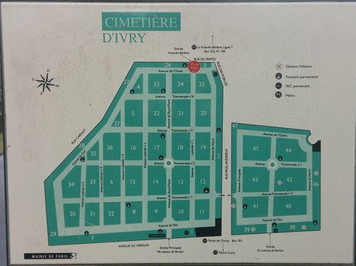 Cimeti re parisien d 39 ivry geneawiki for Piscine ivry sur seine horaires