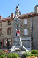 43163 - Riotord-Monument aux morts Mairie.JPG